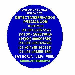 Precio de detective privado